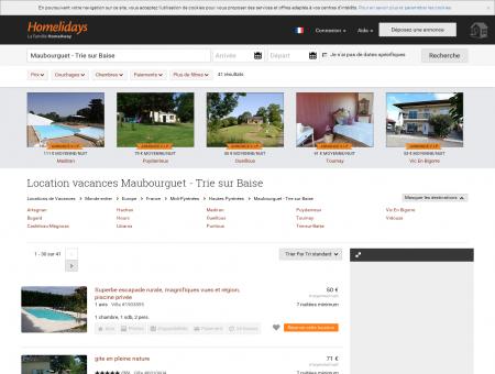 Location vacances Maubourguet - Trie sur...