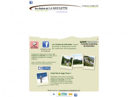 Les chalets de la Moulette, location de chalets...