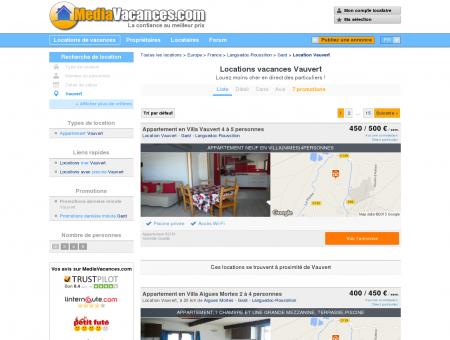 LOCATIONS VACANCES VAUVERT -...