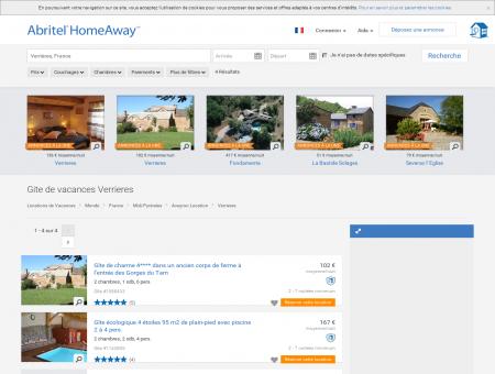 Verrieres : location gite vacances | Abritel