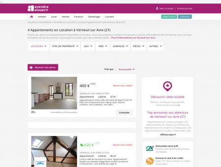 Location Appartement Verneuil sur Avre (27) |...