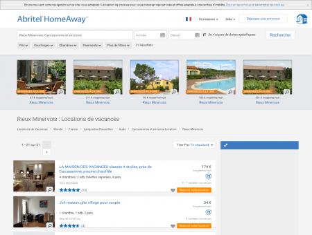 Location vacances Rieux Minervois : toutes les...