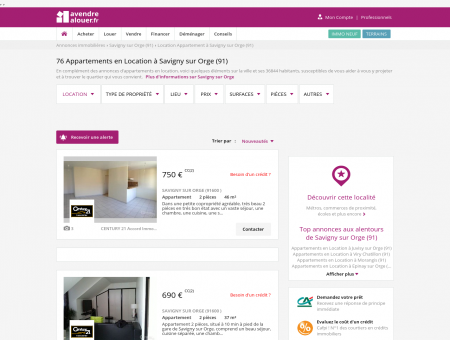 Location Appartement Savigny sur Orge (91) |...