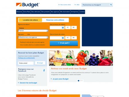 Budget® Location Voiture | budget.fr