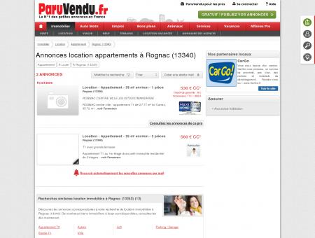 Location appartement à Rognac (13340) :...