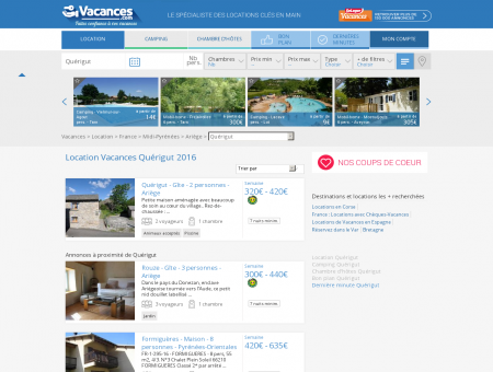 Location Vacances Quérigut - Locations...