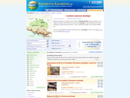 Location vacances Quérigut (09460) -...