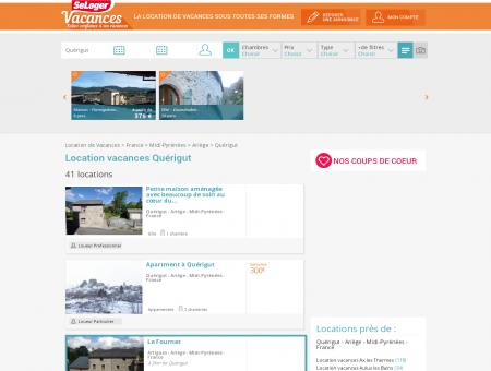 Location vacances Quérigut 09460 (appart,...