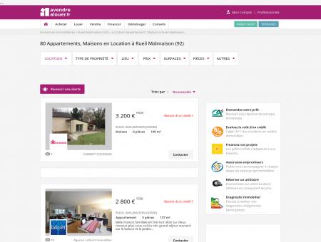 Location Rueil Malmaison | avendrealouer.fr
