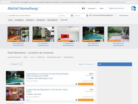 Location vacances Rueil Malmaison : toutes les...
