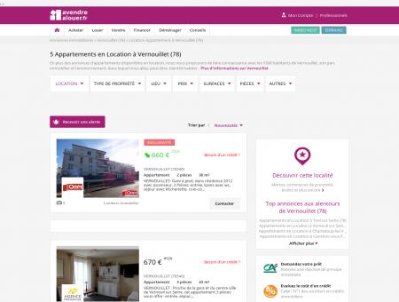 Location Appartement Vernouillet (78)   Louer...