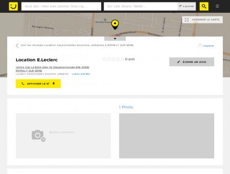 Location E.Leclerc Romilly sur Seine (adresse,...