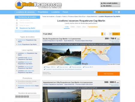 LOCATIONS VACANCES ROQUEBRUNE CAP...