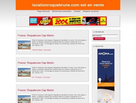 Location Roquebrune
