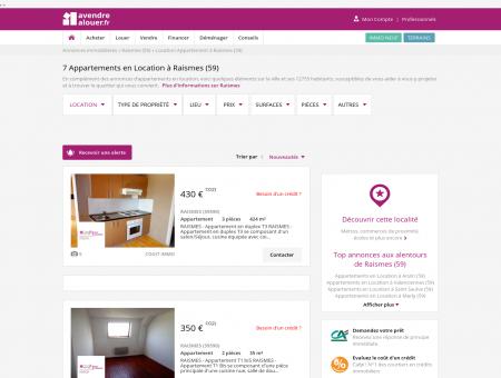 Location Appartement Raismes (59) | Louer...