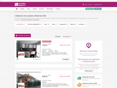 Location Maison Raismes (59) | Louer Maison...