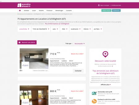 Location Appartement Schiltigheim (67) |...