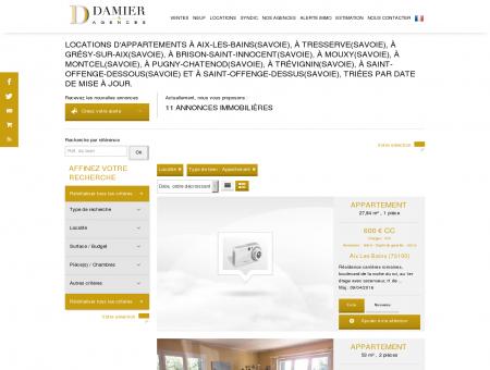 Annonces Locations | damierimmobilier.com