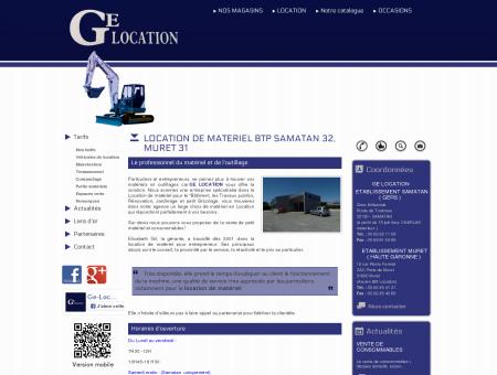 LOCATION DE MATERIEL BTP SAMATAN 32,...