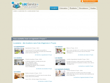 Location Troyes | LocService.fr