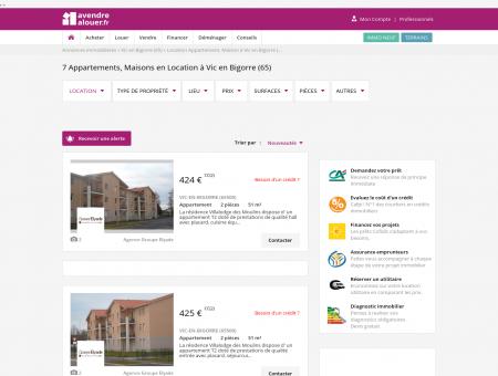 Location Vic En Bigorre | avendrealouer.fr