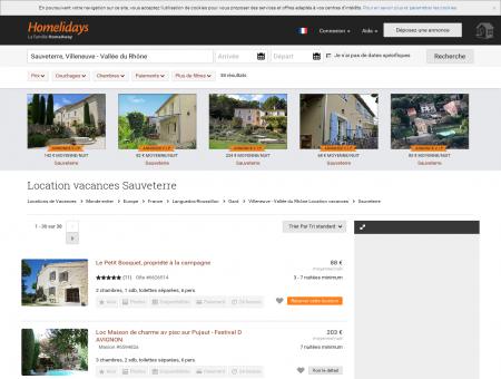Location vacances Sauveterre : location...