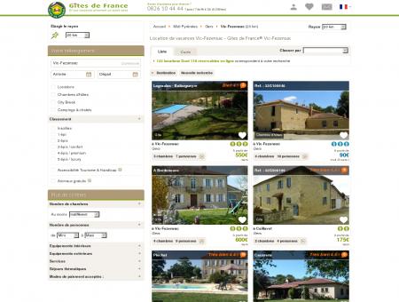 Location de vacances Vic-Fezensac - Gîtes de...