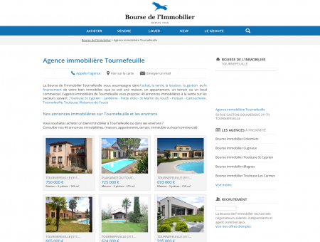 Agence immobilière Tournefeuille (31170),...