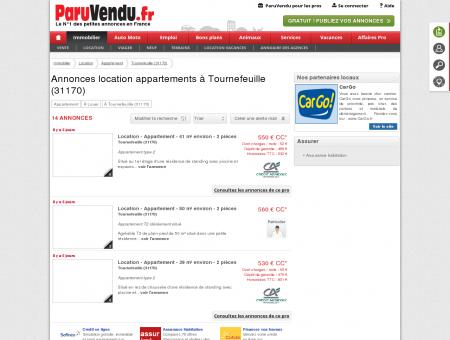 Location appartement à Tournefeuille (31170)...