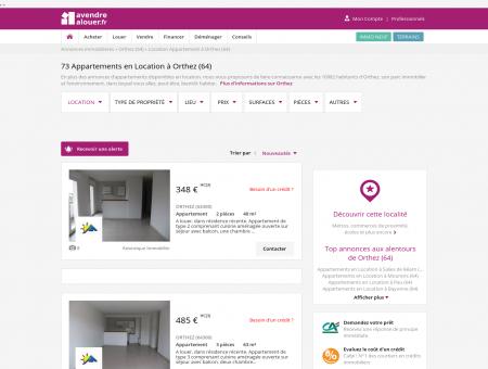 Location Appartement Orthez (64) | Louer...