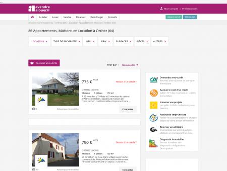 Location Orthez   avendrealouer.fr