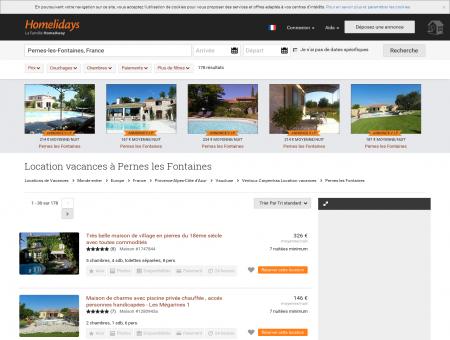Location vacances à Pernes les Fontaines :...