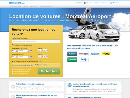 Location Voiture Montréal - Les Prix les Plus Bas Garantis!