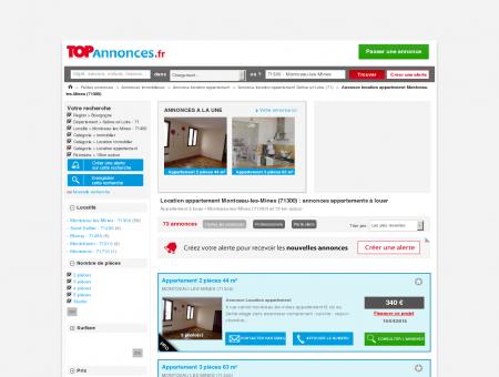 Location appartement Montceau-les-Mines...