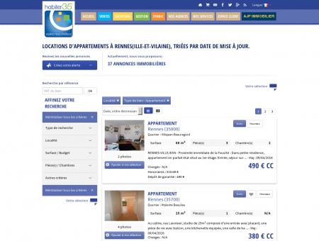 Annonces Appartements | Locations.Rennes.habiter35.com
