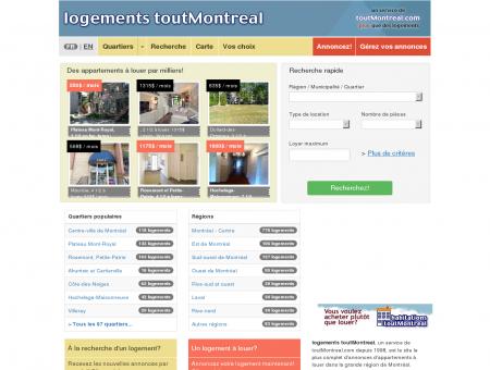 Appartement à louer Montréal et Logement à...
