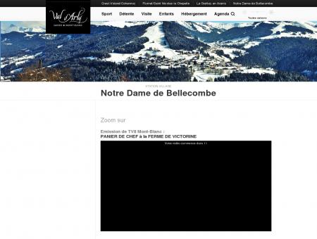 Notre Dame de Bellecombe | Le Val d'Arly...