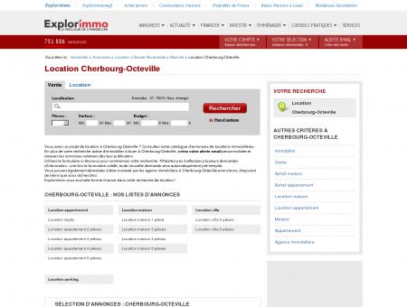 Location Cherbourg-Octeville : immobilier à...