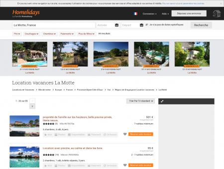 Location vacances La Motte : location...