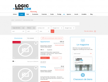 Location Montivilliers | logic-Immo.com