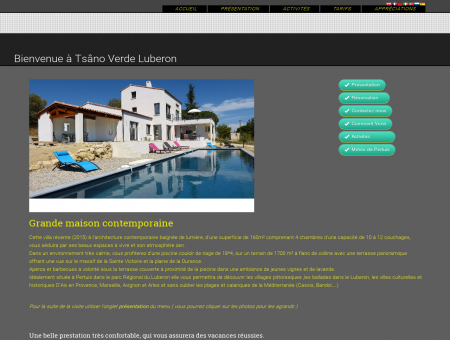 Accueil - Pertuis location de vacances