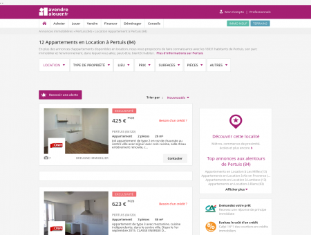 Location Appartement Pertuis (84) | Louer...