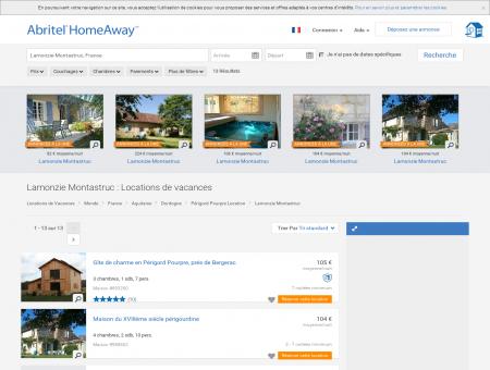 Location vacances Lamonzie Montastruc :...
