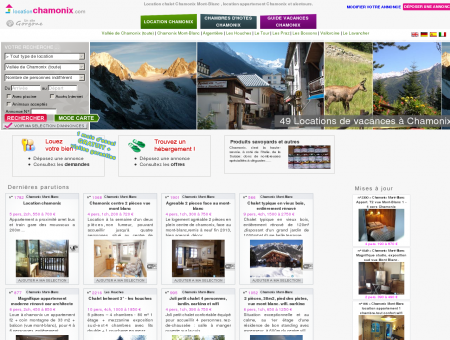 Location chalet Chamonix Mont-Blanc ,...