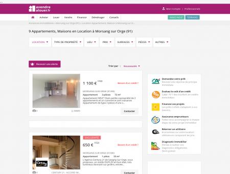 Location Morsang Sur Orge | avendrealouer.fr