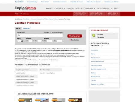 Location Pierrelatte : immobilier à louer...