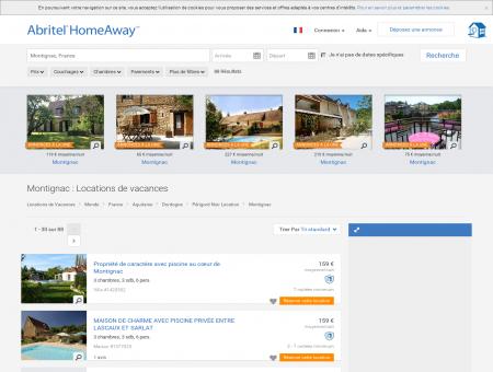 Location Vacances Abritel - Location Montignac