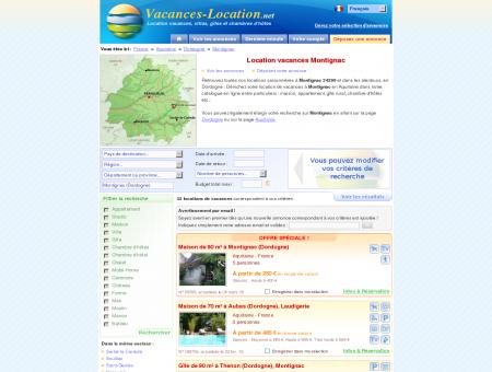 Location vacances Montignac (24290) -...