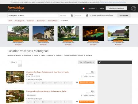 Location vacances Montignac : location...