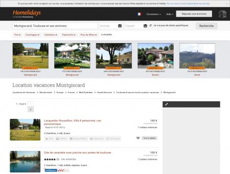 Location vacances Montgiscard : location...
